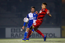 Alex Rodman of Bristol Rovers takes on Hector Kyprianou of Leyton Orient - Mandatory by-line: Robbie Stephenson/JMP - 04/12/2019 - FOOTBALL - Memorial Stadium - Bristol, England - Bristol Rovers v Leyton Orient - Leasing.com Trophy