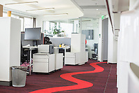 Interior of creative office