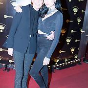 NLD/Hilversum/20180125 - Gouden RadioRing Gala 2017, iffany Curry en Christina CurryT
