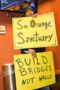 South Orange - Feb 13:  South Orange village president Sheena Collum and board of trustees vote to designate South Orange as a Sanctuary City on February 13, 2017 in South Orange, New Jersey (photo by Matt Peyton Photography)