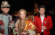 Andre Bartenev, Ulla Larson and Duggie Fields Party hosted by Alexandra Shulman, Rupert Hambro and Prof  Jack Lohman to open 'The London Look, Fashion from Street to Catwalk', Museum of London. ONE TIME USE ONLY - DO NOT ARCHIVE  © Copyright Photograph by Dafydd Jones 66 Stockwell Park Rd. London SW9 0DA Tel 020 7733 0108 www.dafjones.com