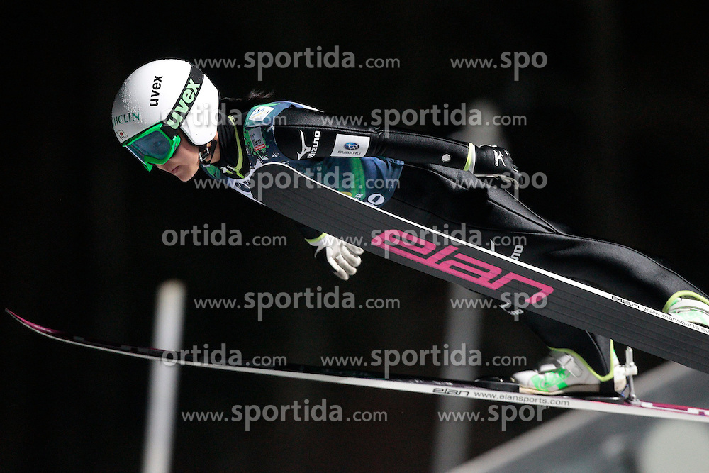 23.11.2012, Lysgards Schanze, Lillehammer, NOR, FIS Weltcup, Ski Sprung, Mixed Team, im Bild Takanashi Sara (JPN) during the mixed team competition of FIS Ski Jumping Worldcup at the Lysgardsbakkene Ski Jumping Arena, Lillehammer, Norway on 2012/11/23. EXPA Pictures © 2012, PhotoCredit: EXPA/ Federico Modica