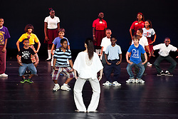 Dance Theatre of Harlem Ensemble School Residency allows students from Addelita Cancryn Junior High School, Wesleyan Academy, VI Montessori School, Guy Benjamin Elementary school, All Saints School, Yvonne Bowsky Elementary School, Bertha C. Boschulte Middle School, Leonard Dober Elementary School, Lockhart Elementary School, and Sts. Peter and Paul School the opportunity to come and view private demonstrations and performances.   © Aisha-Zakiya Boyd