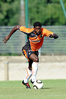FOOTBALL - FRIENDLY GAMES 2010/2011 - FC LORIENT v STADE LAVALLOIS - 10/07/2010 - PHOTO PASCAL ALLEE / DPPI - BRUNO ECUELE MANGA (FCL)
