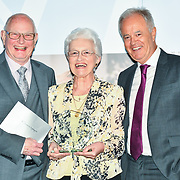 Winner of Churchill Owner - David Nightingale, Jeanette Nightingale of the 7th annual Churchill Awards honour achievements of the Over 65's at Claridge's Hotel on 10 March 2019, London, UK.