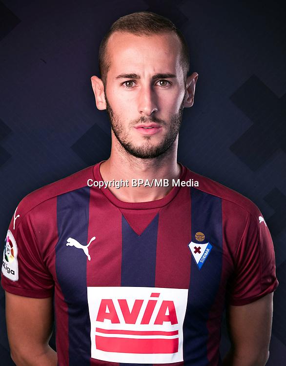 Spain - La Liga Santander 2016-2017 / <br /> ( S.D. Eibar ) - <br /> Alejandro Galvez Jimena
