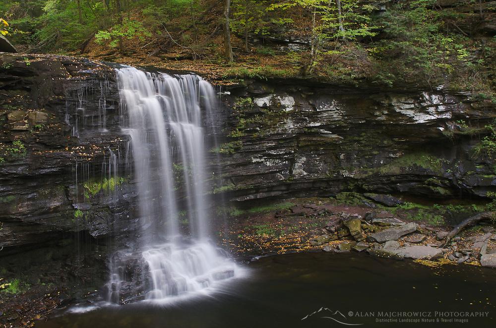 Harrison Wrights Falls, Ricketts Glen State Park, Pennsylvania