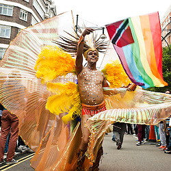 World Pride 2012 procession runs in central London. Images available for sale here, on Alamy and Demotix