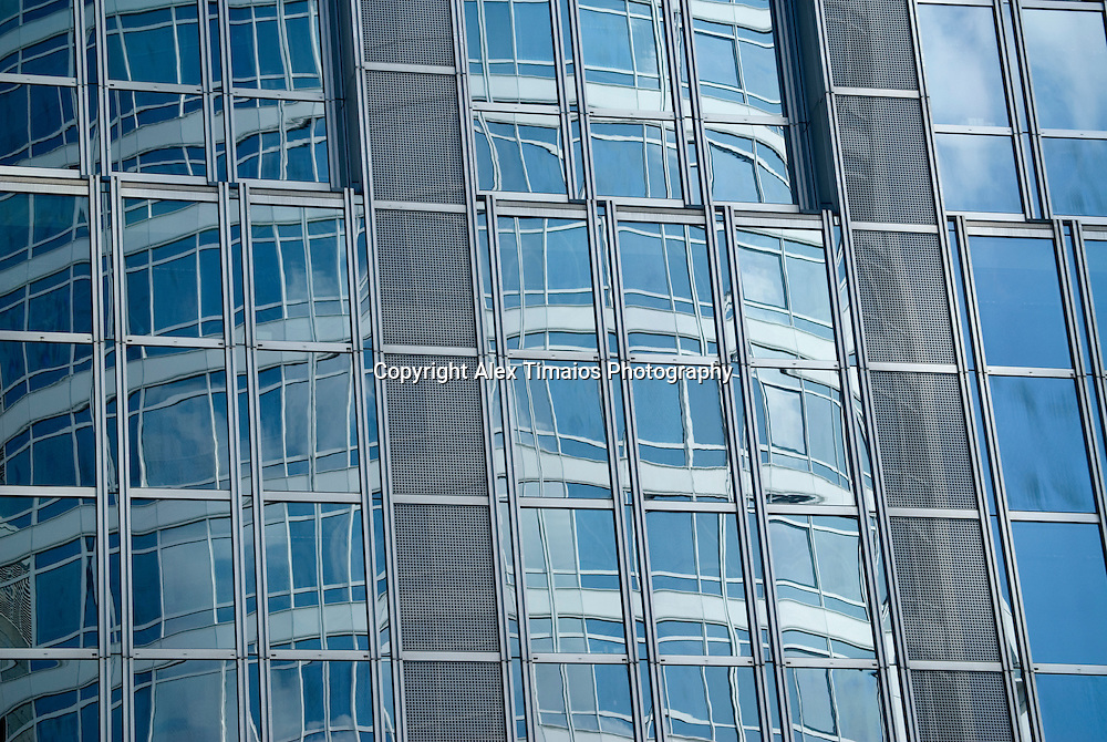 Reflexes of a Business Building