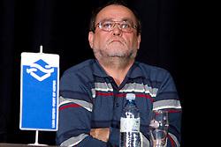 Franc Krasovec, RK Cimos Koper na okrogli mizi o krizi slovenskega rokometa danes, 26. oktober 2010, kongresna dvorana Mercurius, BTC City, Ljubljana, Slovenija. (Photo by Vid Ponikvar / Sportida)