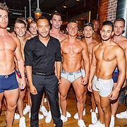 NLD/Rotterdam/20150907 - Lancering Bolas Underwear, Everon Jackson Hooi en modellen