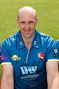 James Tredwell  of Kent  during the Kent County Cricket Club Headshots 2017 Press Day at the Spitfire Ground, Canterbury, United Kingdom on 31 March 2017. Photo by Martin Cole.