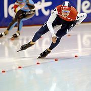 NLD/Heerenveen/20060122 - WK Sprint 2006, 2de 1000 meter dames, Marieke Wijsman - Judith Hesse