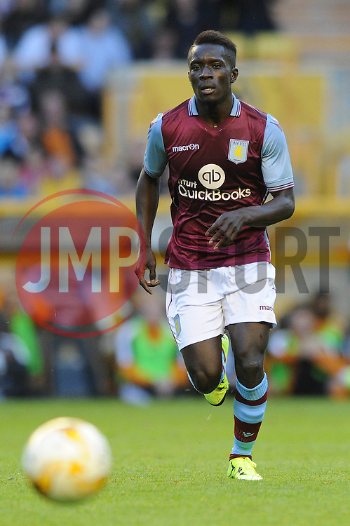 Idrissa Gueye of Aston Villa - Mandatory by-line: Dougie Allward/JMP - 07966386802 - 28/07/2015 - SPORT - FOOTBALL - Wolverhampton,England - Molineux Stadium - Wolves v Aston Villa - Pre-Season Friendly