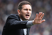 Derby County manager Frank Lampard during the EFL Sky Bet Championship match between Derby County and West Bromwich Albion at the Pride Park, Derby, England on 5 May 2019.