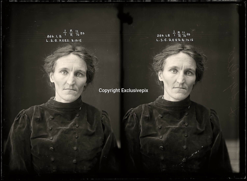 The barber shop slasher, the back-street abortionist and the 'parasite in a skirt': Vintage Australian mugshots reveal some of the country's earliest women criminals<br /> <br /> Haunting images of the past have emerged, showing vintage black and white portraits of Australian women.<br /> But these are no ordinary women. These are the not-so-innocent faces of convicted criminals who were put behind bars from the 1880s to 1930s.<br /> Among them include the infamous razor gangster and prominent madam of the times - Matilda 'Tilly' Devine.<br /> Others include backyard abortionists, drug dealers and those convicted of bigamy, drunkenness and theft.<br /> most of them were sent to the State Reformatory for Women, Long Bay - south of Sydney - which is now known as&nbsp;Long Bay Correctional Complex.<br /> <br /> <br /> Photo shows:  Leslie Selina Gertrude Rees, criminal record number 224LB, 8 October 1915. State Reformatory for Women, Long Bay, NSW<br /> <br /> Leslie Rees was convicted of bigamy at the Moree Quarter Sessions and was sentenced to four months light labour. Women from regional centres were transferred to Sydney to serve their time. Age unknown.<br /> &copy;NSW Police Gazette/Exclusivepix