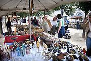 Belgie, Brugge, 3-9-2005..Rommelmarkt, luizenmarkt, Brocante. ..Belgium, stedentrip, toerisme, tourism. Vakantie...Foto: Flip Franssen/Hollandse Hoogte