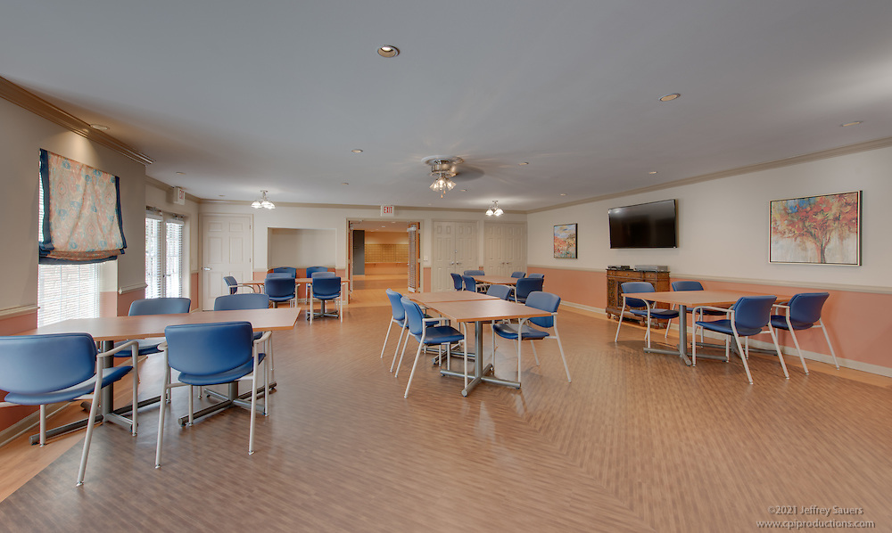 Interior Photo of Victoria Senior Apartments in Woodbridge Virginia by Jeffrey Sauers of Commercial Photographics, Architectural Photo Artistry in Washington DC, Virginia to Florida and PA to New England