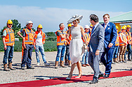 28-6-2018 Drechtland- King Willem-Alexander and Queen Maxima visit Heijmans during a regional visit to West-Friesland. ROBIN UTRECHT