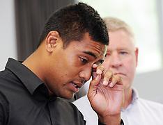 Wellington-Julian Savea press conference over assault allegations