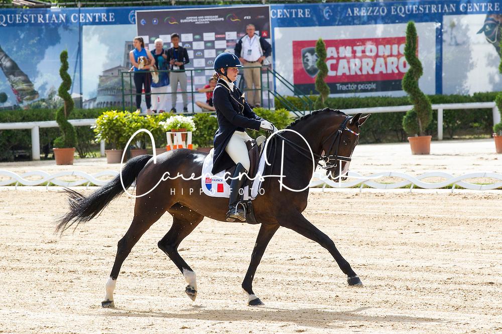 Charlotte Cassen - Wiolita II<br /> European Championships Dressage Junior and Young Riders 2014<br /> © DigiShots