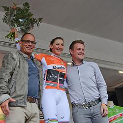 04-09-2015: Wielrennen: Ladiestour: Oosterhout<br /> OOSTERHOUT (NED) wielrennen<br /> De vierde etappe van de Holland Ladies Tour voerde de rensters rond Oosterhout in een individuele tijdrit; Lisa Brennauer Wint de tijdrit