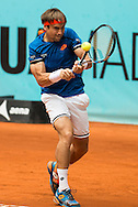David Ferrer during the Madrid Open at Manzanares Park Tennis Centre, Madrid<br /> Picture by EXPA Pictures/Focus Images Ltd 07814482222<br /> 05/05/2016<br /> ***UK & IRELAND ONLY***<br /> EXPA-ESP-160505-0085.jpg