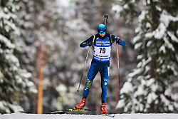 March 9, 2019 - –Stersund, Sweden - 190309 Petr Yermolenko of Kazakhstan competes in the Men's 10 KM sprint during the IBU World Championships Biathlon on March 9, 2019 in Östersund..Photo: Petter Arvidson / BILDBYRÃ…N / kod PA / 92252 (Credit Image: © Petter Arvidson/Bildbyran via ZUMA Press)
