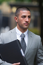 © London News Pictures. 02/05/2013. London, UK. George Panayiotou, son of Property tycoon Andreas Panayiotou  arriving at Southwark Crown Court  . George and his brother Costas Panayiotou received a 15-month sentence suspended for 18 months for an attack on two off-duty policemen on a night out, which left of the off-duty officers one needing titanium plates in his cheek and eye socket. Photo credit: Ben Cawthra/LNP<br /> <br /> Read more: http://www.dailymail.co.uk/news/article-2618831/Judge-blasts-sons-one-Britains-richest-tycoons-cowardly-vicious-attack-left-police-officer-needing-titanium-plates-lets-walk-FREE-court.html#ixzz30a8skGmd <br /> Follow us: @MailOnline on Twitter | DailyMail on Facebook<br /> <br /> Read more: http://www.dailymail.co.uk/news/article-2618831/Judge-blasts-sons-one-Britains-richest-tycoons-cowardly-vicious-attack-left-police-officer-needing-titanium-plates-lets-walk-FREE-court.html#ixzz30a7aQ300 <br /> Follow us: @MailOnline on Twitter | DailyMail on Facebook. Photo credit: Ben Cawthra/LNP