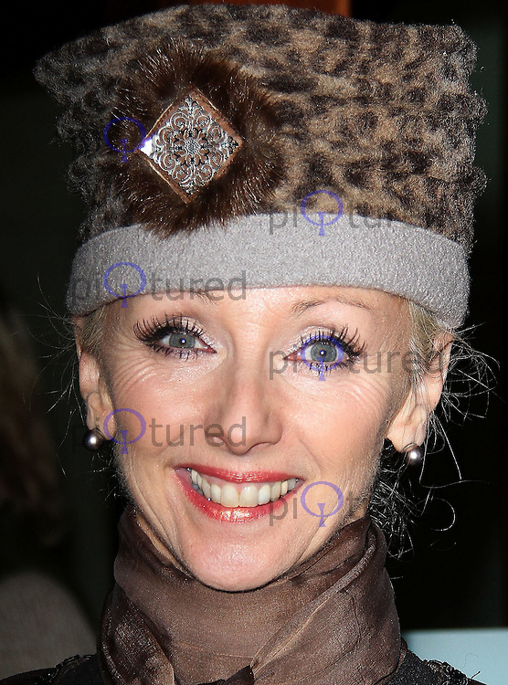 LONDON - FEBRUARY 28:  Debbie McGee attends the 'Hans Klok: The Houdini Experience' at the Peacock Theatre, London, UK on February 28, 2012. (Photo by Richard Goldschmidt)