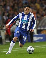 20090415: PORTO, PORTUGAL - FC Porto vs Manchester United: Champions League 2008/2009 – Quarter Finals – 2nd leg. In picture: Ernesto Farias . PHOTO: Manuel Azevedo/CITYFILES