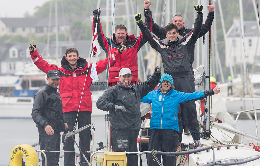 Silvers Marine Scottish Series 2017<br /> Tarbert Loch Fyne - Sailing<br /> <br /> GBR8856Y, Mayrise, James Miller, Helensburgh SC<br /> <br /> Credit: Marc Turner / CCC