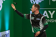 Paul Nicholson during the PDC Darts Players Championship at  at Butlins Minehead, Minehead, United Kingdom on 24 November 2017. Photo by Shane Healey.