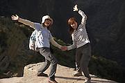Japanese tourists, Machu Picchu  Peru  Not Released
