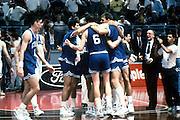 Europei Roma 1991 - Esultanza delll'Italia