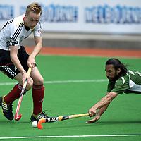 MELBOURNE - Champions Trophy men 2012<br /> Germany v Pakistan 1-2<br /> Pakistan into the half final<br /> foto:Duel Christopher Reuhr and Shakeel Abassi..<br /> FFU PRESS AGENCY COPYRIGHT FRANK UIJLENBROEK