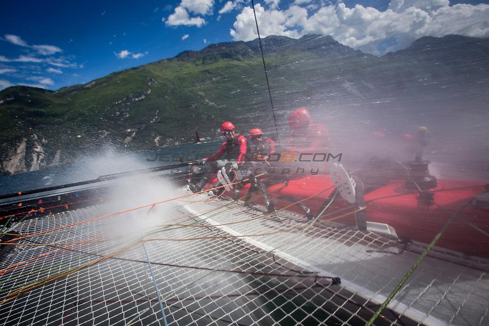 GC32 Riva Cup first event of the 2017 GC32 Racing Tour, ©Jesus Renedo/ GC32 Racing Tour