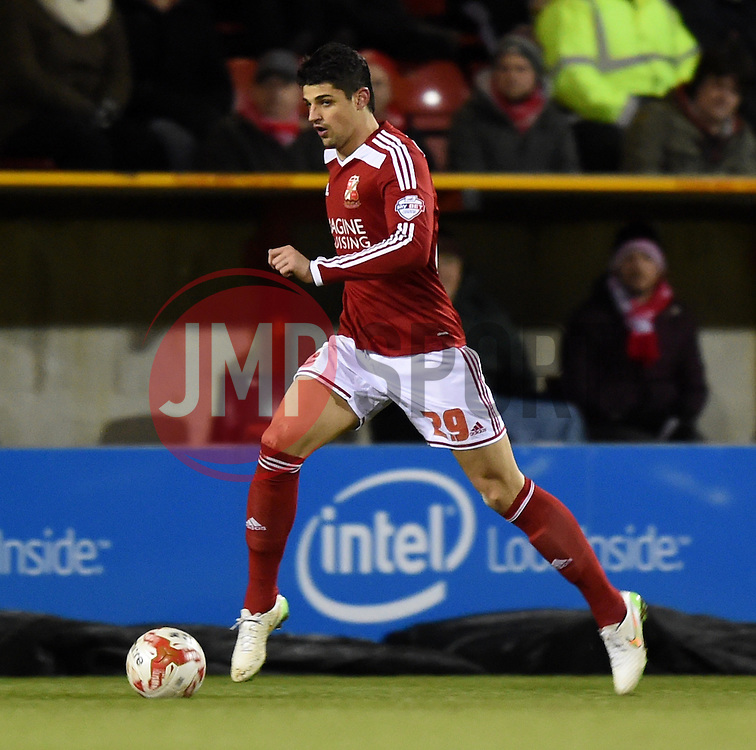 Swindon Town's Raphael Rossi Branco - Photo mandatory by-line: Paul Knight/JMP - Mobile: 07966 386802 - 03/03/2015 - SPORT - Football - Swindon - The County Ground - Swindon Town v Gillingham - Sky Bet League One