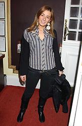 MELISSA DEL BONO at a special Grand Classic screening of Place Vendome to celebrate Catherine Deneuve as MAC Beauty Icon 3 held at The Elecric Cinema, Portobello Road, London W11 on 30th January 2006.<br /><br />NON EXCLUSIVE - WORLD RIGHTS