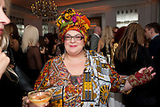 CAMILLA BATMANGHELIDJH, Harper's Bazaar Women Of the Year Awards 2011. Claridges. Brook St. London. 8 November 2011. <br /> <br />  , -DO NOT ARCHIVE-© Copyright Photograph by Dafydd Jones. 248 Clapham Rd. London SW9 0PZ. Tel 0207 820 0771. www.dafjones.com.