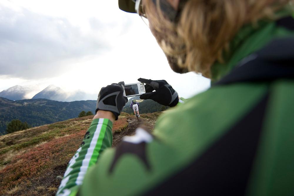 Riders: Karen Heller and Holger Meyer  Location Solden (Austria)