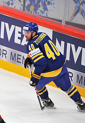 09.05.2012, Ericsson Globe, Stockholm, SWE, IIHF, Eishockey WM, Deuschland (GER) vs Schweden (SWE), im Bild 40 Henrik Zetterberg // during the IIHF Icehockey World Championship Game between Germany (GER) and Sweden (SWE)at the Ericsson Globe, Stockholm, Sweden on 2012/05/09. EXPA Pictures © 2012, PhotoCredit: EXPA/ PicAgency Skycam/ Simone Syversson..***** ATTENTION - OUT OF SWE *****