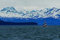 Sailing on Auke Bay
