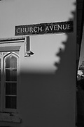 Henley, Oxfordshire. England General Views Henley Town<br /> Street Sign for Church Avenue, H-O-T<br />   Thursday  01/12/2016<br /> © Peter SPURRIER<br /> LEICA CAMERA AG  LEICA Q (Typ 116)  f1.7  1/16000sec  35mm  5.4MB