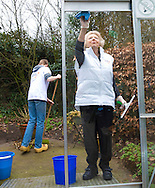 Barneveld, 20-03-2015<br /> <br /> Princess Beatrix and other members of the Dutch Royal Family did voluntary work at the Care Home Norschoten on NL DOES day.<br /> <br /> Photo: Bernard Ruebsamen/Royalportraits Europe