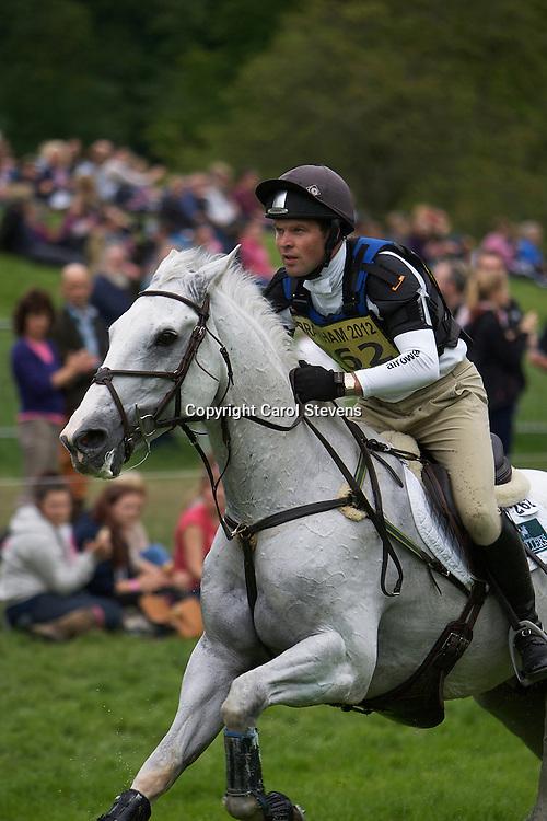 Equi-Trek Bramham International Horse Trials 2012  CIC3*<br /> Jamie Atkinson and Direct Dilemma