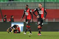 Sylvain ARMAND    - 25.01.2015 - Rennes / Caen  - 22eme journee de Ligue1<br />Photo : Vincent Michel / Icon Sport