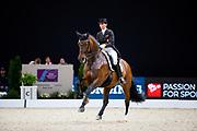 Belinda Weinbauer - Sohnlein Briljant MJ<br /> FEI Longines FEI World Cup Paris 2018<br /> © DigiShots