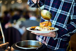 Hospitality prior to kick off - Mandatory by-line: Ryan Hiscott/JMP - 14/04/2019 - RUGBY - Sandy Park - Exeter, England - Exeter Chiefs v Wasps - Gallagher Premiership Rugby