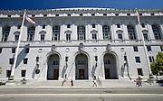 California State Building, Supreme Court, Civic Center, San Francisco..Photo by Jason Doiy.6-30-08